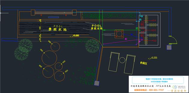 鱼池设计图