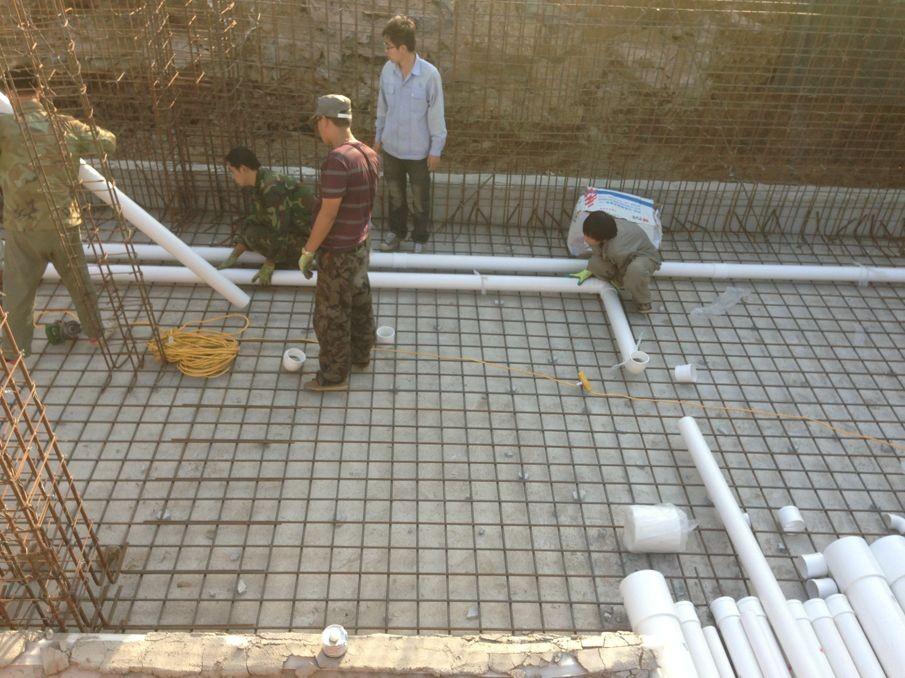 山东民和牧业景观水池施工方案