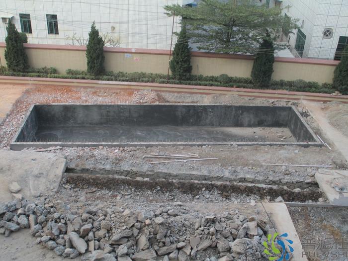 广州方总景观水处理系统建造