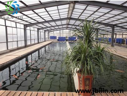 山东某锦鲤鱼场——鱼场景观水处理设计建造工程案例
