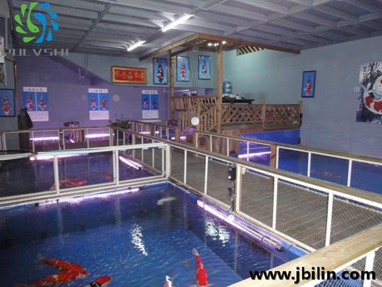 云南锦鲤鱼场——锦鲤鱼场景观水处理工程