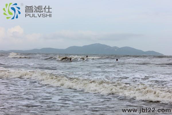 8月金碧林景观水处理亲海活动