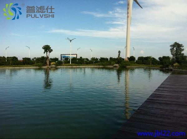 汕尾湖东公司景观循环水处理·美而好·一片赞声