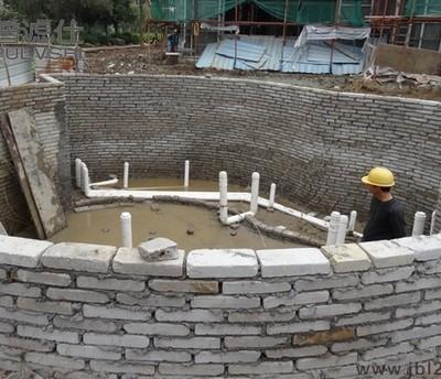 顺德麦总景观水处理设计方案正在实施