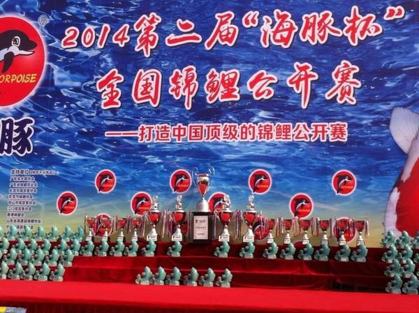 金碧林景观水处理参加了2014江门海豚杯