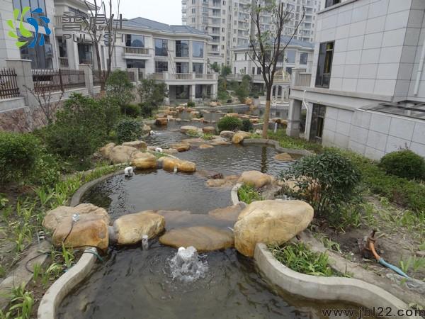 小区景观循环水处理,365天水清见底金碧林专业实现