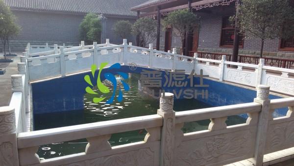 专业13年经验,四川景观水体净化选择了金碧林