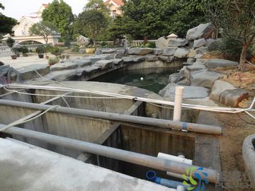 景观水处理,金碧林靠的是经验