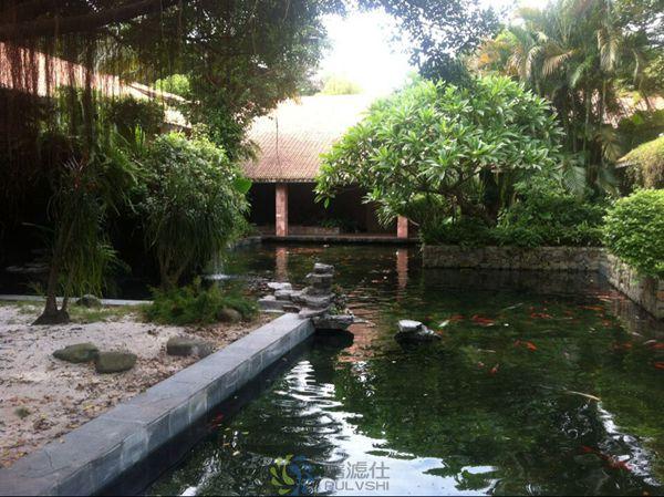 创造自然环境,景观循环水处理