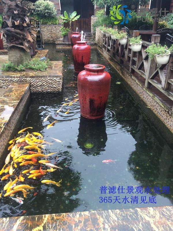 祝贺'普滤仕'杭州花园式餐厅景观水处理完美成功