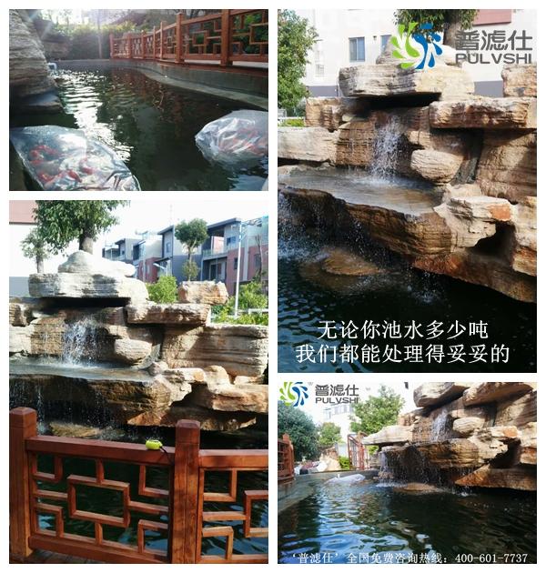 祝贺云南玉溪'普滤仕'分公司完成一鱼池水处理工程
