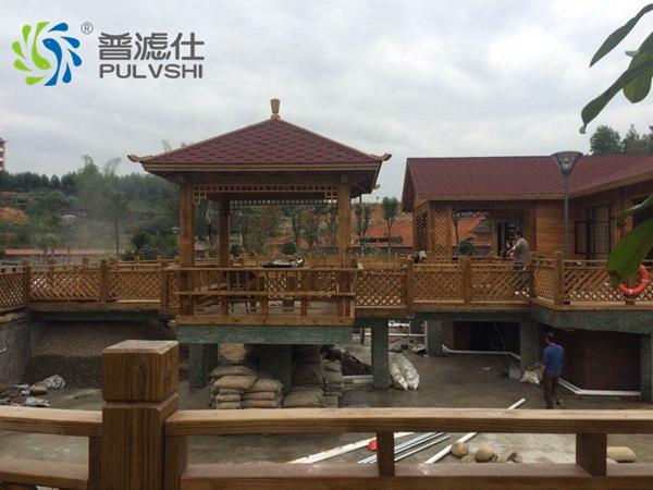 厦门度假村景观水处理阮先生度假树的案例