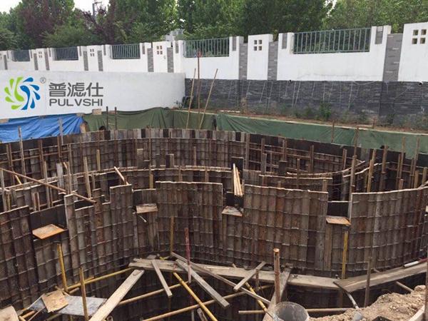 (山东案例)100吨别墅鱼池景观水处理案例