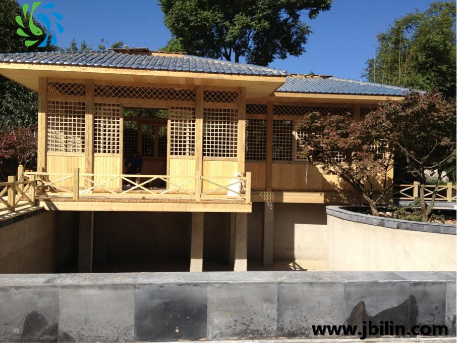 金碧林的绝对实力---打造云南园艺博览园的景观水过滤