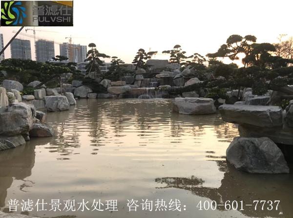 惠州碧桂园潼湖科技小镇景观水处理